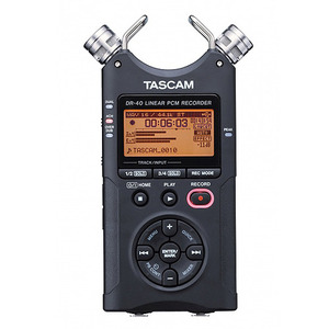 TASCAM DR-40 VERSION2 24bit/96kHz 리니어 PCM 레코더